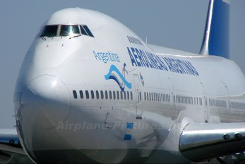 LV-OPA - Aerolineas Argentinas Boeing 747-200