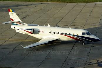 YR-TII - Ion Tiriac Air Gulfstream Aerospace G200