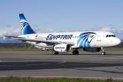 SU-GBA - Egyptair Airbus A320 aircraft