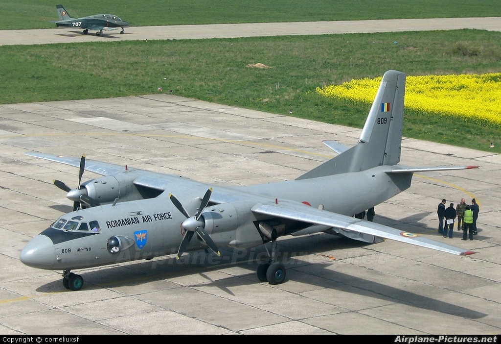Romania - Air Force 809 aircraft at Bacau