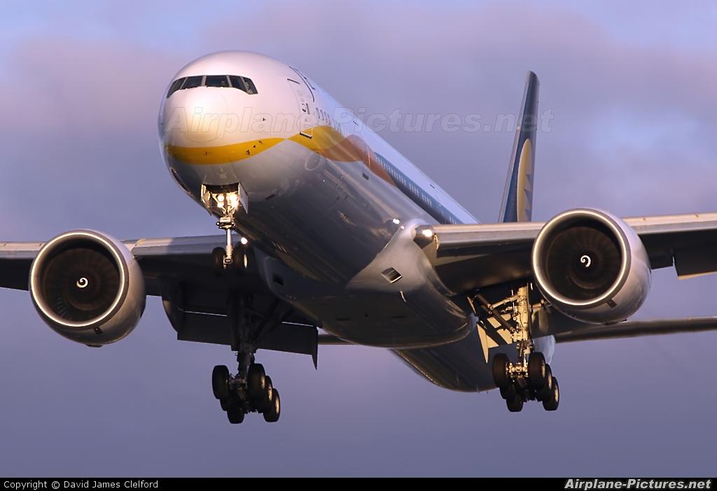 Jet Airways VT-JEB aircraft at London - Heathrow