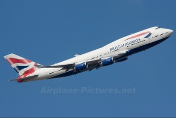 G-CIVU - British Airways Boeing 747-400