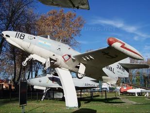 3-A-118 - Argentina- Navy Grumman F9F Panther