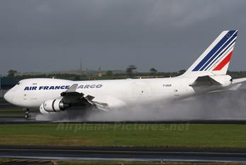 F-GIUA - Air France Cargo Boeing 747-400F, ERF