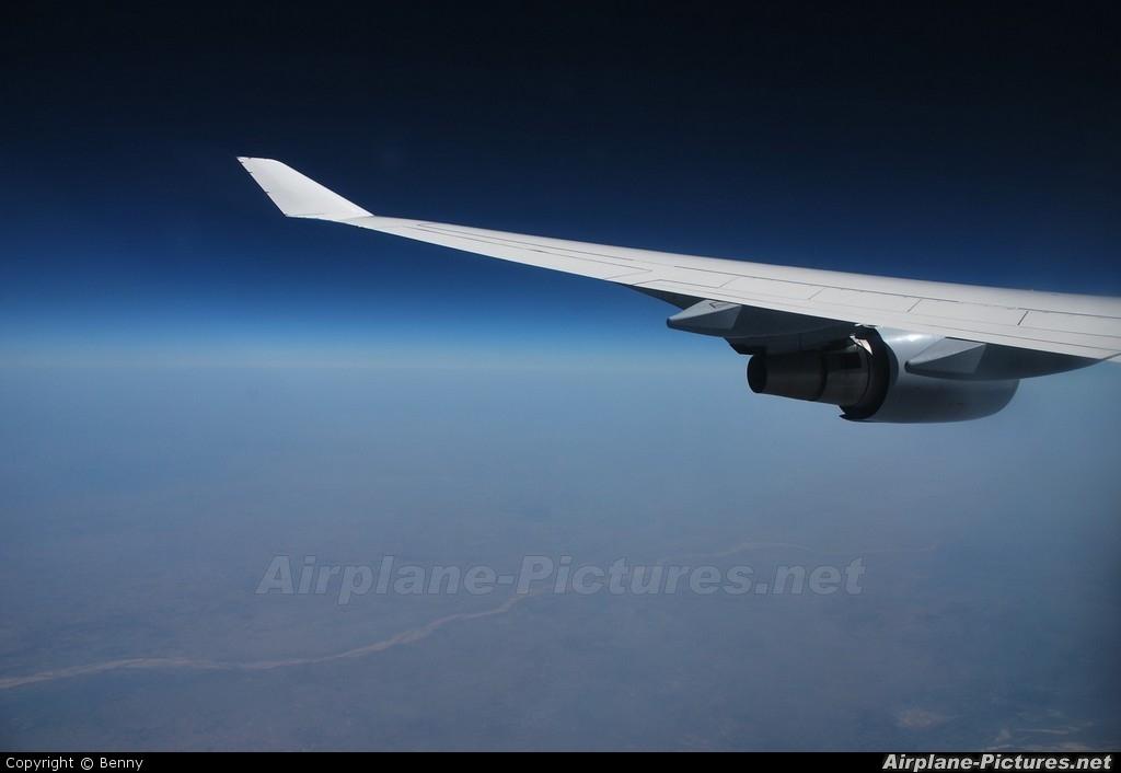 Lufthansa D-ABVK aircraft at In Flight - Myanmar