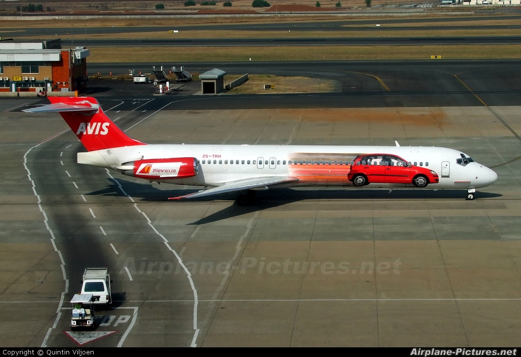 1Time ZS-TRH aircraft at Johannesburg - OR Tambo Intl