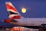 G-EUUI - British Airways Airbus A320 aircraft