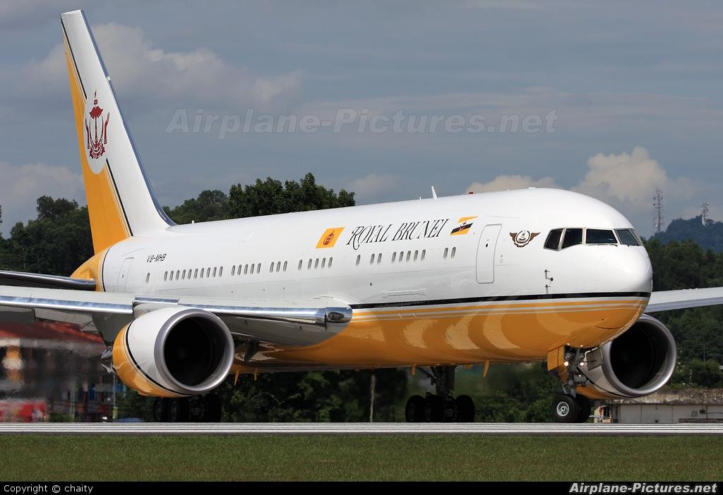 Royal Brunei Airlines V8-MHB aircraft at Subang - Sultan Abdul Aziz Shah