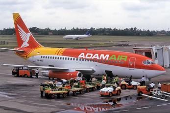 PK-KKF - AdamAir Boeing 737-200