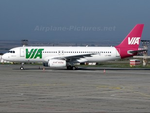 LZ-MDB - Air Via Airbus A320