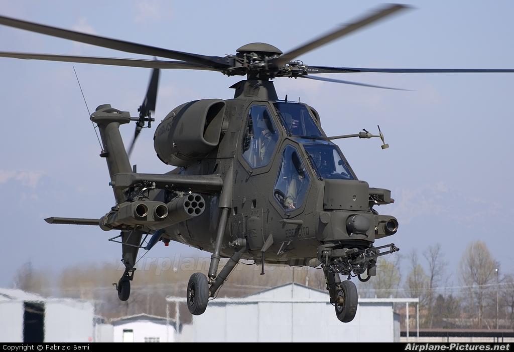 Italy - Army MM81412 aircraft at Casarsa della Delizia