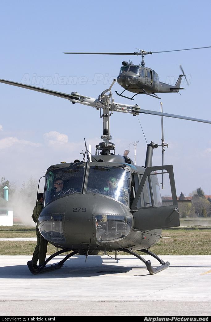 Italy - Army MM80531 aircraft at Casarsa della Delizia