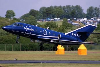 G-FRAF - Cobham Aviation Dassault Falcon 20