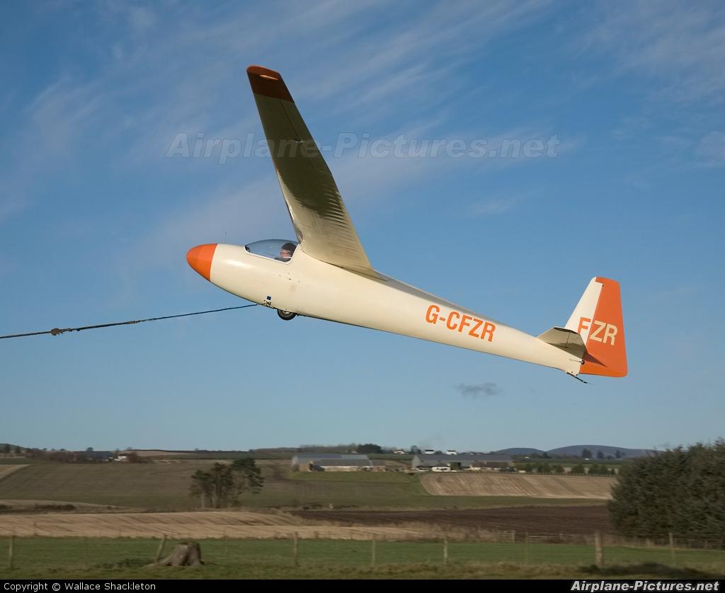 Private G-CFZR aircraft at Drumshade
