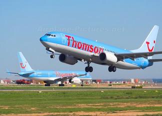 G-FDZA - Thomson/Thomsonfly Boeing 737-800