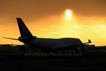 ZS-SAZ - South African Airways Boeing 747-400