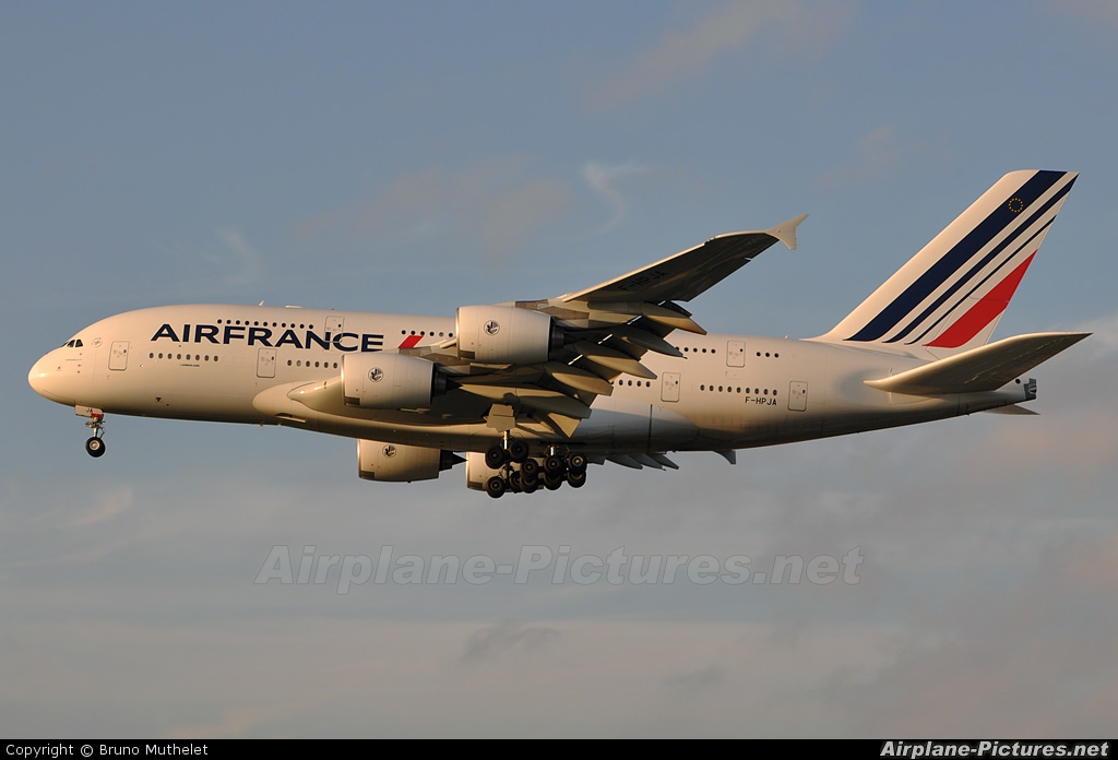 Air France F-HPJA aircraft at Paris - Orly
