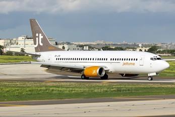 OY-JTE - Jet Time Boeing 737-300
