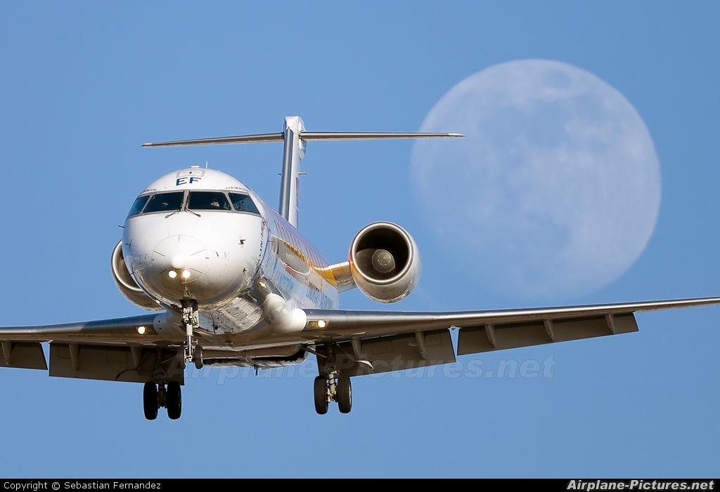 Air Nostrum - Iberia Regional EC-JEF aircraft at Barcelona - El Prat