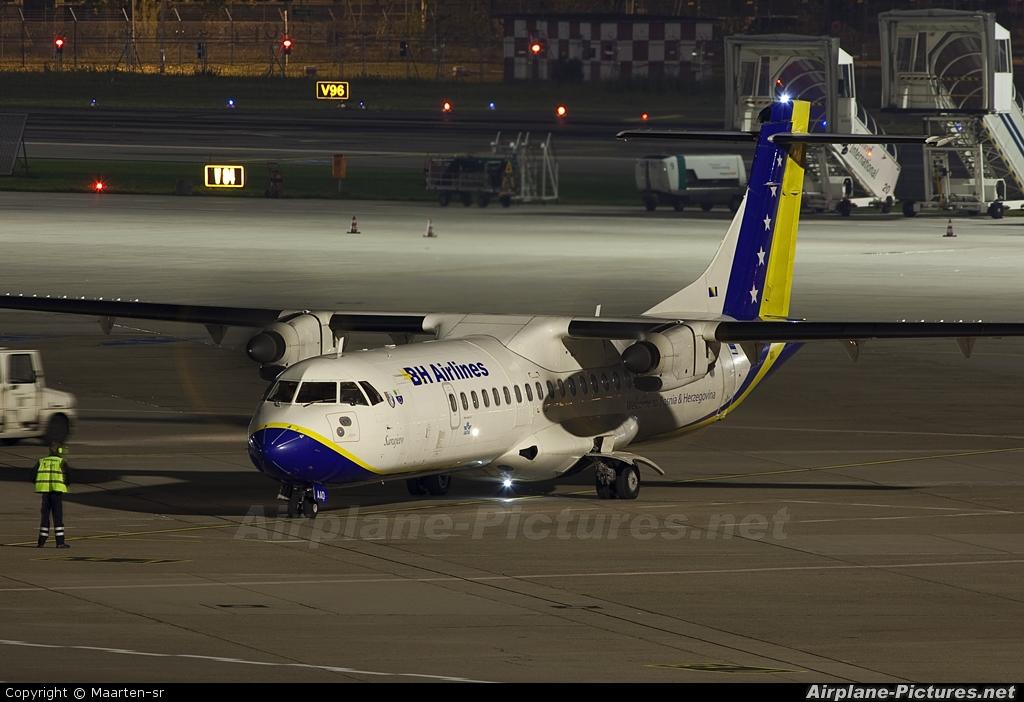 Air Bosnia - BH Airlines T9-AAD aircraft at Düsseldorf