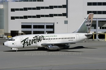 N205AU - Frontier Airlines Boeing 737-200