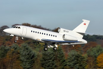 HB-IGY - Cat Aviation Dassault Falcon 900 series