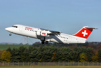 HB-IXN - Swiss British Aerospace BAe 146-300/Avro RJ100