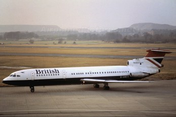 G-AWZG - British Airways Hawker Siddeley HS.121 Trident 3B