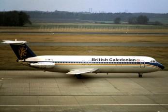 G-AWYU - British Caledonian BAC 111