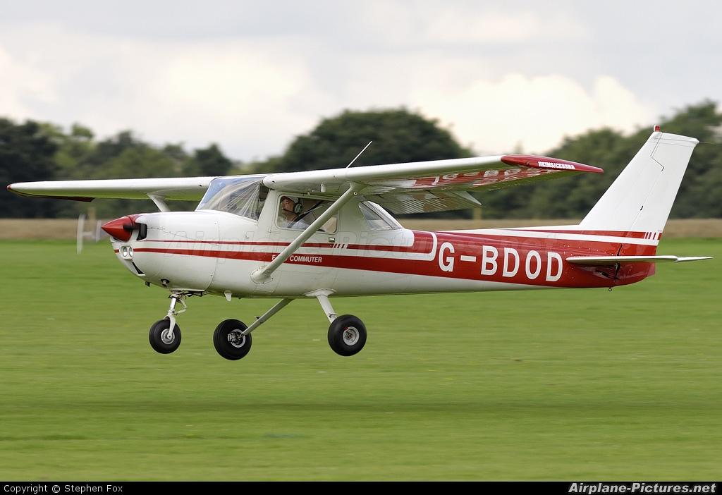 Private G-BDOD aircraft at Northampton / Sywell