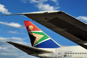 ZS-SPC - South African Airways Boeing 747SP