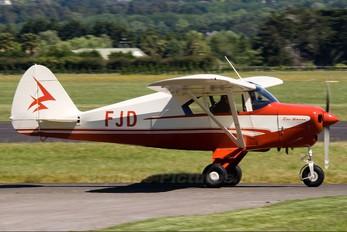 ZK-FJD - Private Piper PA-22 Tri-Pacer