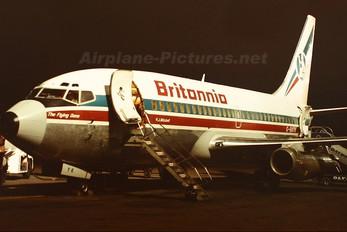 G-BGYK - Britannia Airways Boeing 737-200