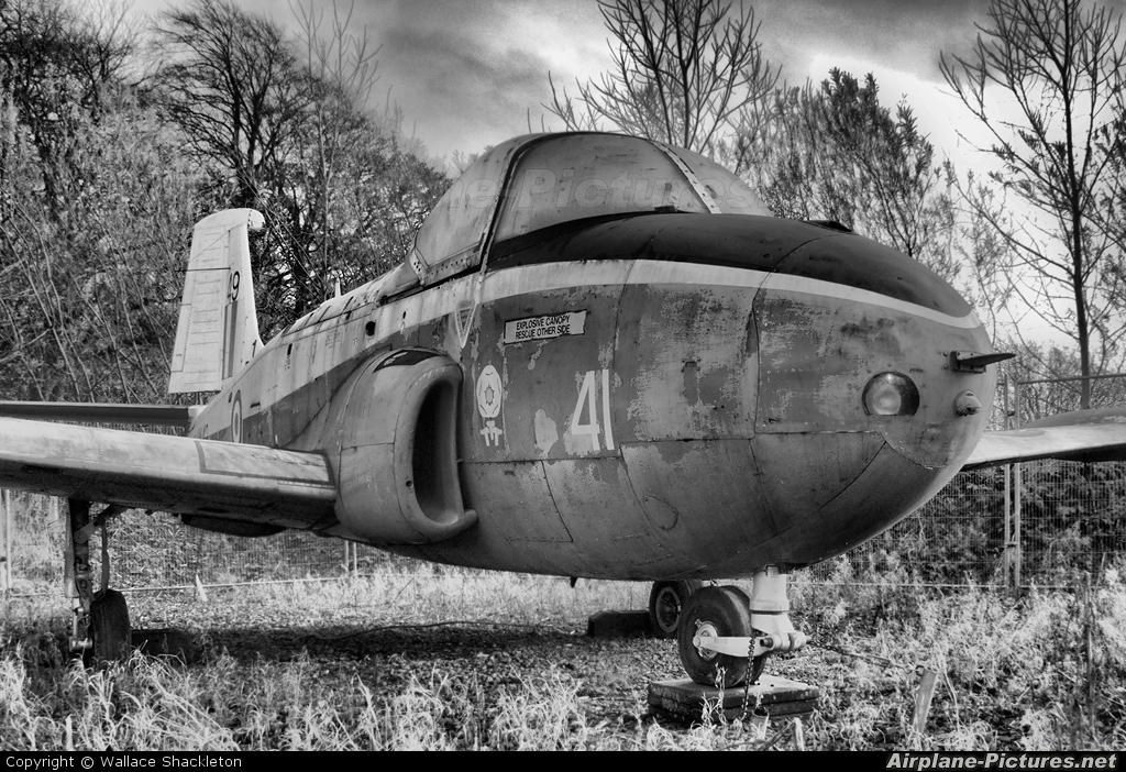 Royal Air Force XM412 aircraft at Balado Park