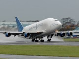 N747BC - Boeing Company Boeing 747-400LCF Dreamlifter aircraft