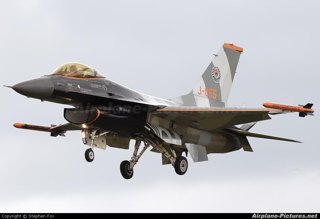 Netherlands - Air Force J-055 aircraft at Fairford