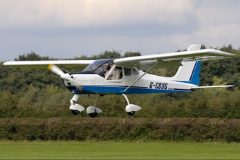 G-CBUG - Private Tecnam P92 Echo, JS & Super