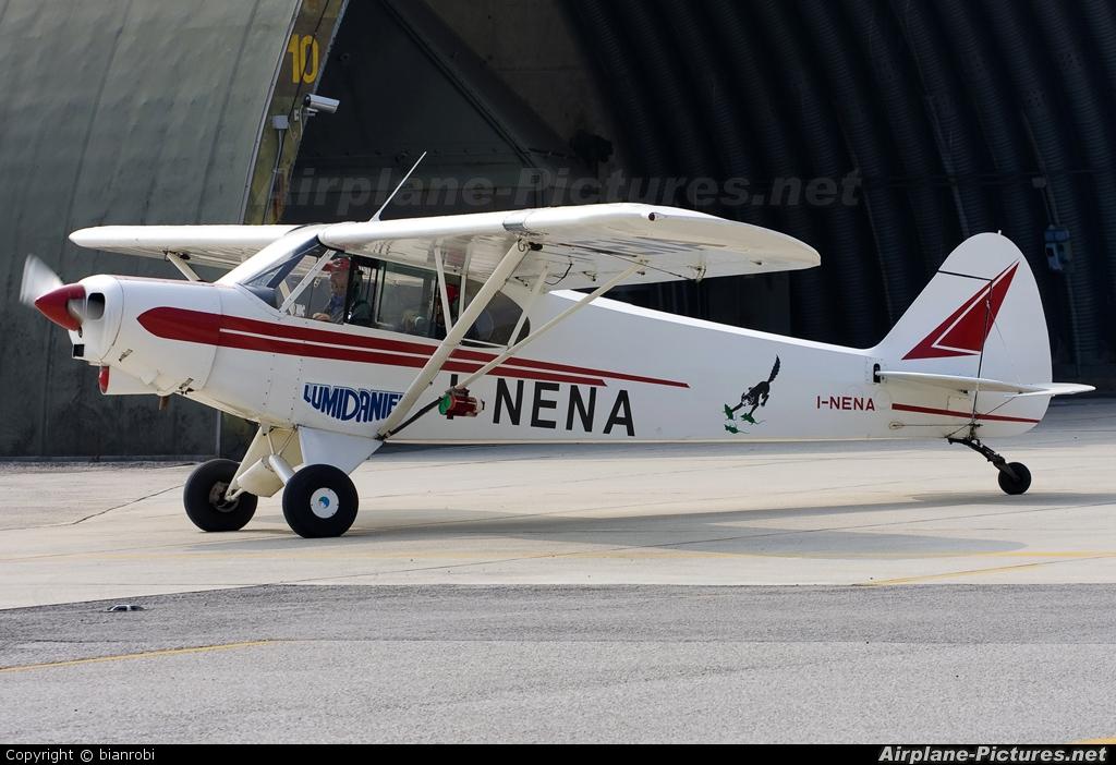 Private I-NENA aircraft at Treviso - Istrana