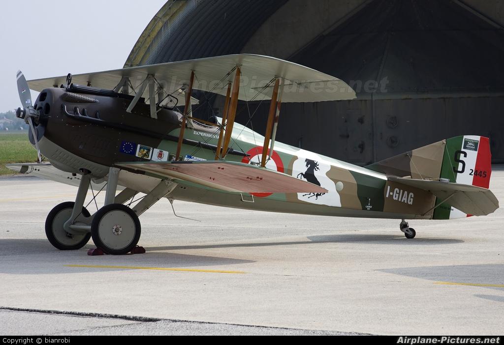 Private I-GIAG aircraft at Treviso - Istrana