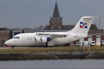 SE-DJP - Transwede Airways British Aerospace BAe 146-100/Avro RJ70