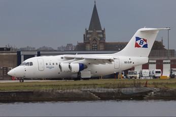 SE-DJP - Transwede Airways British Aerospace BAe 146-100/Avro RJ70