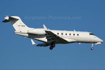VP-BEK - Private Bombardier BD-100 Challenger 300 series