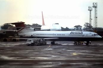 G-AYVF - British Airways Hawker Siddeley HS.121 Trident 3B