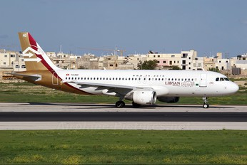 TS-IND - Libyan Airlines Airbus A320
