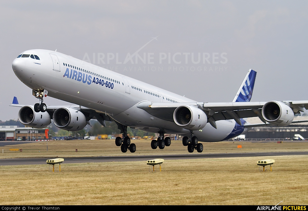 Airbus Industrie F-WWCA aircraft at Farnborough