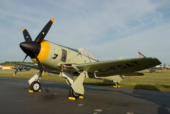 C-FGAT - Private Hawker Sea Fury FB.10