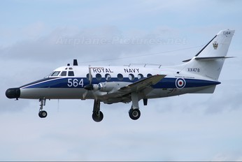 XX478 - Royal Navy Scottish Aviation Jetstream T.2