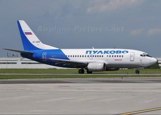 EI-CDD - Pulkovo Airlines Boeing 737-500
