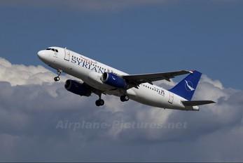 YK-AKE - Syrian Air Airbus A320