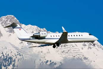 OE-IKG - Majestic Executive Aviation Canadair CL-600 Challenger 850